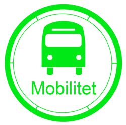Smart city mobilitet ikon - Klikk for stort bilde